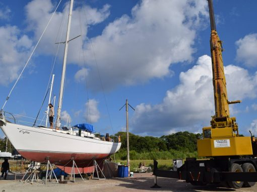 Fixing and Sailing Orfin