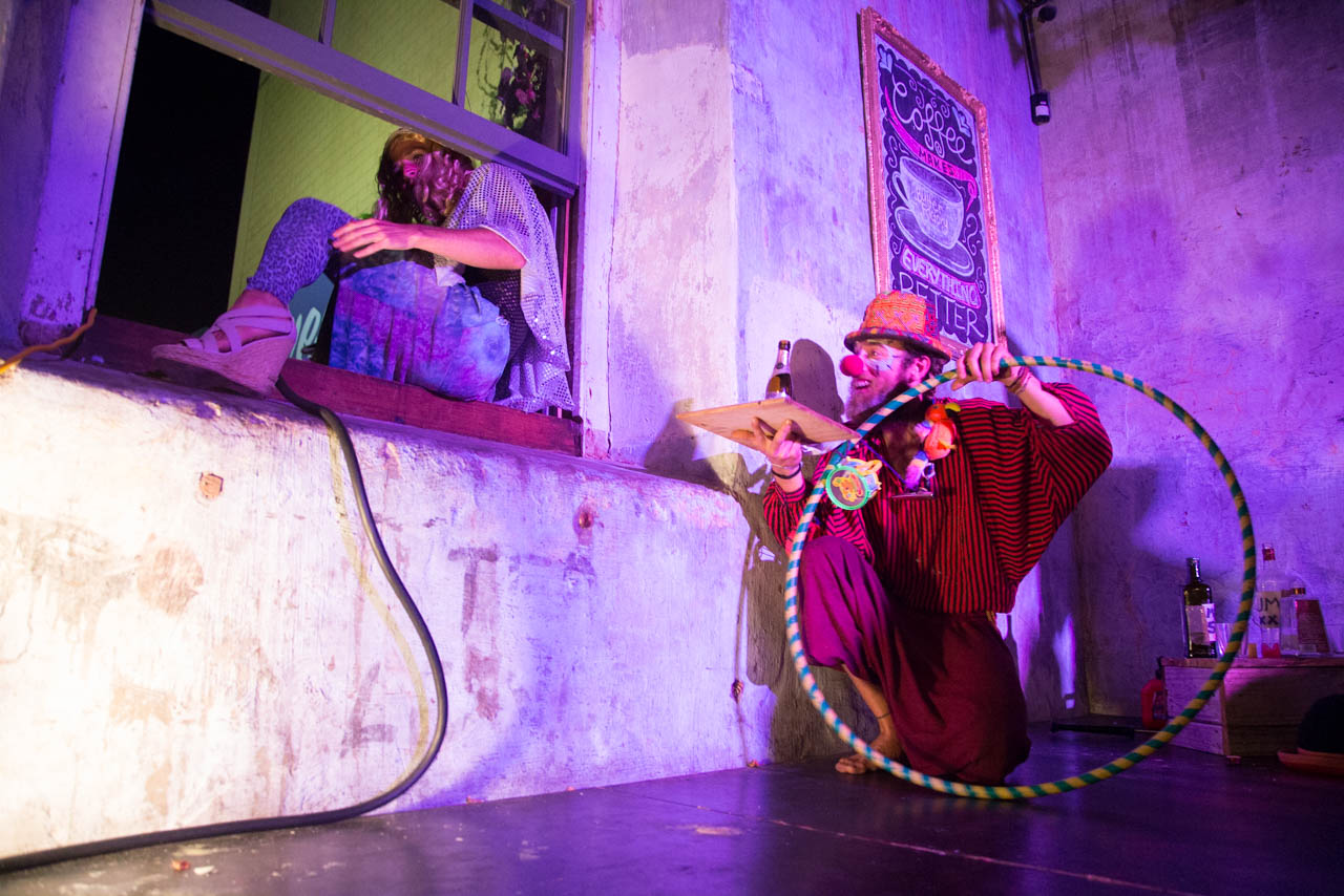 The Drifting Circus at the Butter Factory